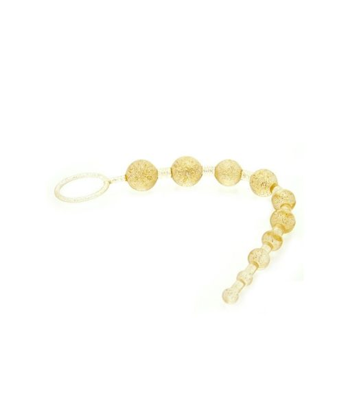 Pure Gold X-10 Anal Beads