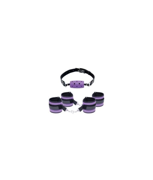 Fetish Fantasy Series Purple Pleasure Set
