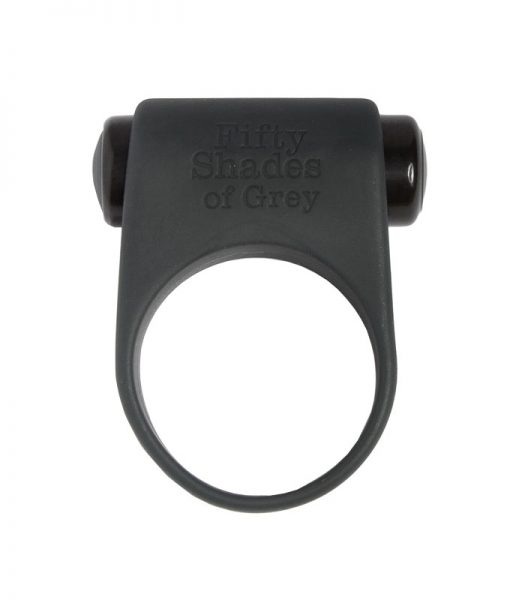 Fifty Shades Of Grey Feel It Baby Vibrating Cock Ring Grey